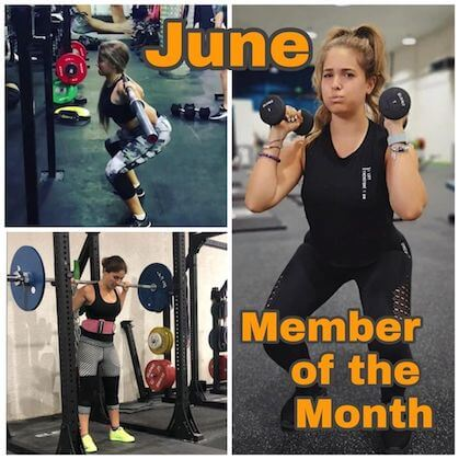 member of the month physical training company